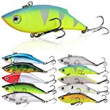 Sougayilang Fishing Lures Swimbait Vibe Crankbaits For Trout Bass Perch Musky Walleye Fishing