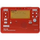 Korg Instrument Tuner and Metronome (Red)