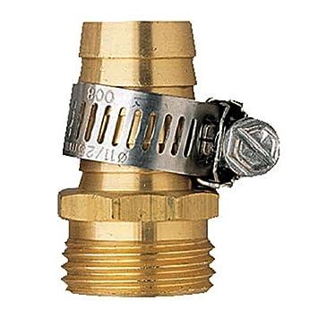 Orbit Male Thread Aluminum 5/8u0026quot; Water Hose Repair U0026 Clamp For Garden  Hoses