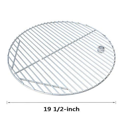 Onlyfire BBQ Stainless Steel Round Cooking Grates / Cooking Grid Fit for Kamado Ceramic grill, 19 1/2-inch