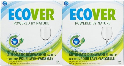 Ecover Automatic Dishwashing Tablets - Citrus - 25 ct - 2 pk