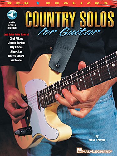 Country Solos for Guitar: Reh * Prolicks Series With CD with Full ...