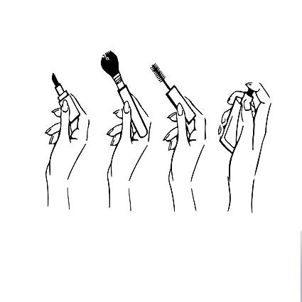Amazon.com Fangeplus R DIY Removable Makeup Brush Lipstick