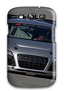 Tpu Case Cover For Galaxy S3 Strong Protect Case - Audi R8 Lms 33 Design