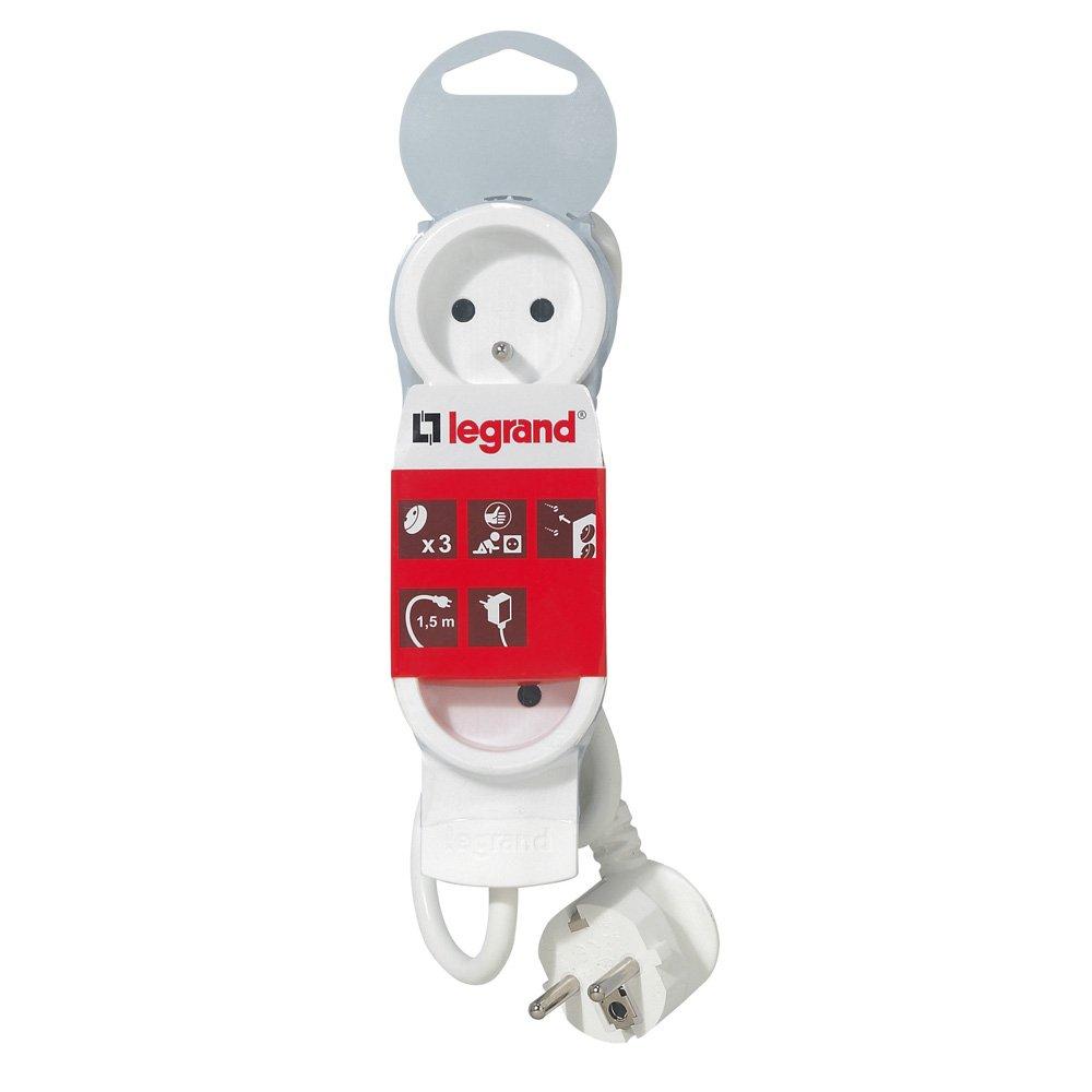 Legrand - 050051 - Rallonge Multiprises Standard - Cordon 1,5 m product image