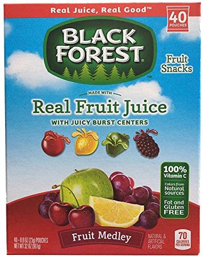 Price comparison product image Black Forest Fruit Medley Fruit Snacks - 40 - 0.8 Oz Pouches