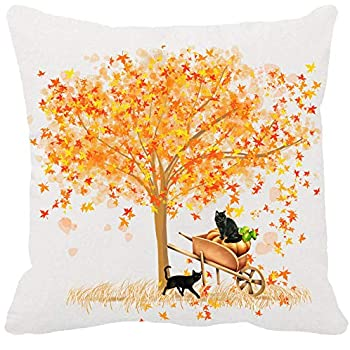 Amazon Com Two Sided Printing Autumn Blessing Maple Leaf