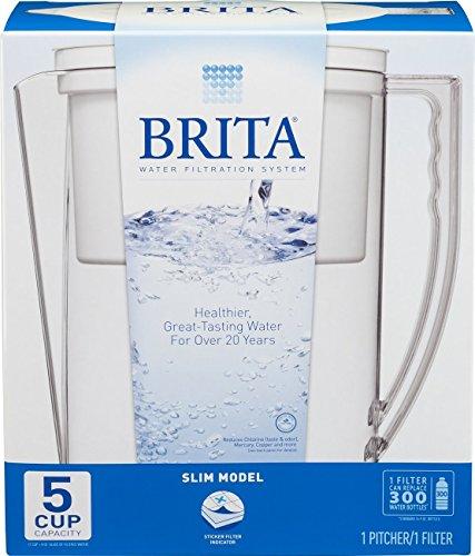 Brita Slim Water - Brita 42629 Slim Pitcher