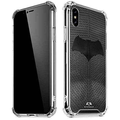 Skinit Batman Bust iPhone X/XS Clear Case - Officially Licensed Warner Bros Phone Case Clear - Transparent iPhone X/XS Cover