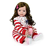 Lovewe Baby Doll Toy,Lifelike Baby Doll 50cm New Doll Kids Girl Playmate Christmas Birthday Gift