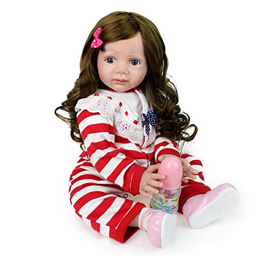 Lovewe Baby Doll Toy,Lifelike Baby Doll 50cm New Doll Kids Girl Playmate Christmas Birthday Gift by Lovewe_Christmas Decor (Image #5)