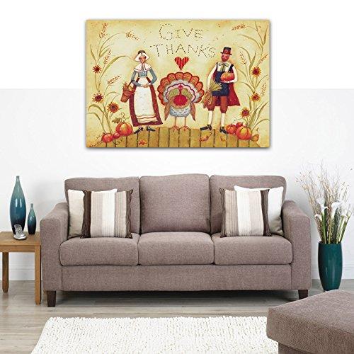 YIMEI-ART thanksgiving canvas prints 16