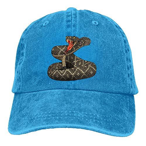 Hat Rattlesnake - Arsmt Terrible Rattlesnake Denim Hat Adjustable Men Dad Baseball Hats