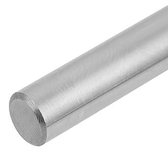1pc Asta di guida in acciaio cilindrica Asta lineare Asta tonda diritta Diametro 6mm Guida lineare per asta di movimento 400mm Asta di supporto lineare