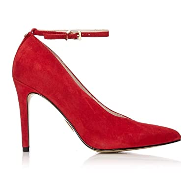 0a2ce29c26 Moda In Pelle Kendria Red Suede 41: Amazon.co.uk: Shoes & Bags