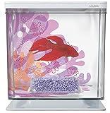 Marina Betta Aquarium Starter Kit, Flower, 6 x 5.7 x 6.2