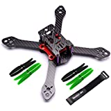Readytosky 220mm FPV Racing Drone Frame Reptile Martian III Carbon Fiber Quadcopter Frame Kit Power Distribution Board PDB