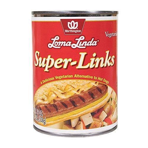 Loma Linda - Vegetarian - Super Links (19 oz.) - Kosher