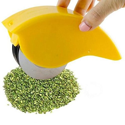 TUZECH Herb Rolling Mincer and Cutter For Instant Salad by Tuzech