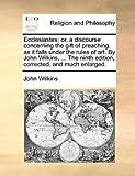 Ecclesiastes, John Wilkins, 1170945015