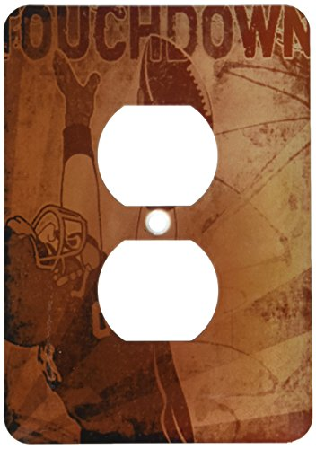 Touchdown Football Light Switch Cover ()