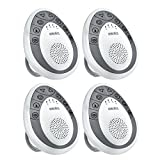 HoMedics, SoundSpa Mini Portable Sound Machine, SS-1200 (4 Pack)