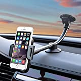 New 360° Full Rotation windscreen Holder For iPhone X / iPhone 8 / Samsung galaxy 8 / s6 edge / Samsung s7 / Samsung galaxy s8 / note 8 / 4/5 Works In Portrait Or Landscape Position- Perfect For Sat Nav Use