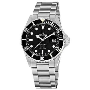 Grovana Reloj Analógico Automático para Hombre con Correa de Acero Inoxidable – 15712137