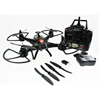 Night lions Tech (TM) 2016 Newest 2.4G X181V Remote Control RC Quadcopter Drone with HD 2MP Camera Black New