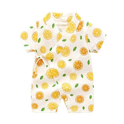 6abf51c70abd Galleon - PAUBOLI Kimono Robe Newborn Cotton Yarn Robe Baby Romper ...