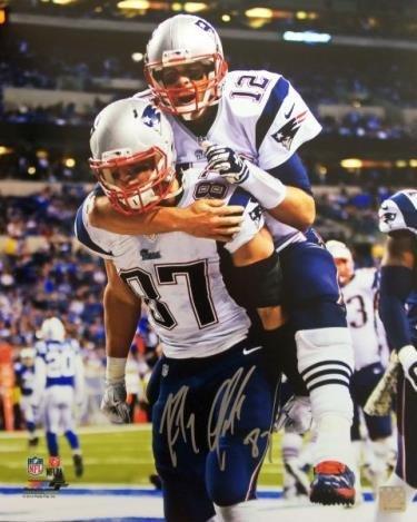 - Signed Gronkowski Photograph - 16x20 - Autographed NFL Photos
