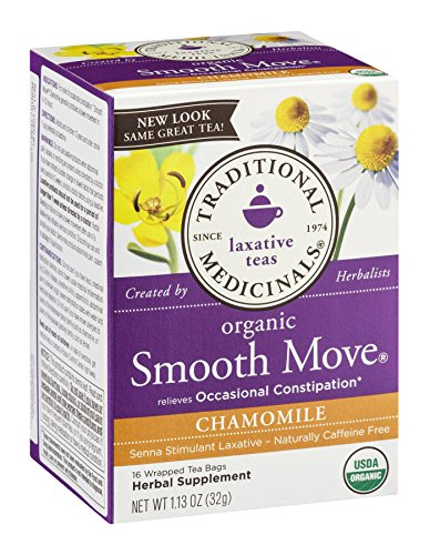 Traditional Medicinals Organic Smooth Move Chamomile Tea, 16 Tea Bags Review