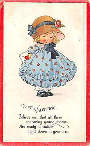 - Valentines Day Post Card Old Vintage Antique Postcard Artist Twelvetrees 1920