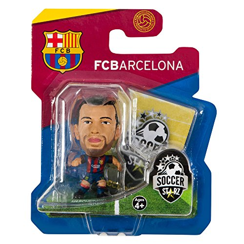 Barcelona Soccerstarz Mascherano 14-15 Home Kit