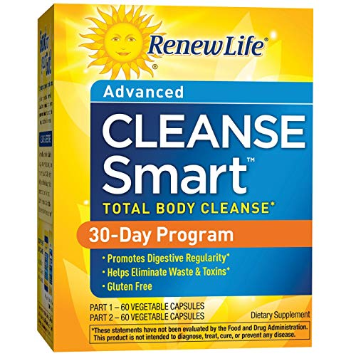 Renew Life Adult Cleanse - Smart Total Body Cleanse, Advanced - 2 Part, 30-Day Program - 120 Vegetable Capsules by Renew Life (Image #6)