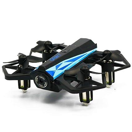 CLCYL UAV Remoto Drone con cámara Mini Cuatro Ejes avión Plegable ...