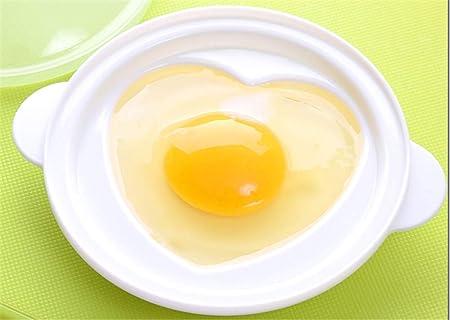 Horno De Microondas Egg Poacher con Caja De Huevo Al Vapor Love ...