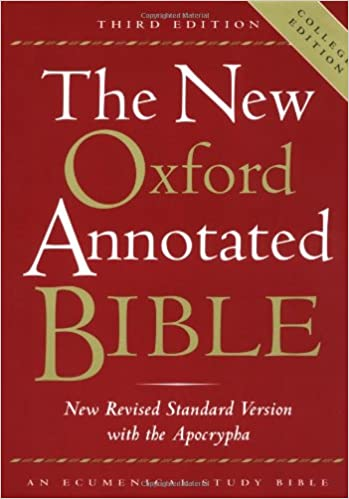 Amazon the new oxford annotated bible with the apocrypha third amazon the new oxford annotated bible with the apocrypha third edition new revised standard version 9780195284850 michael d coogan fandeluxe Image collections