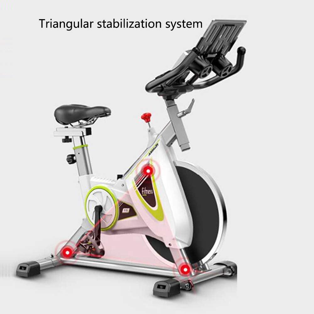 KuaiKeSport Bicicleta Estática de Fitness,Bicicleta Spinning Profesional con Monitor Multifuncional,Bicicleta Gimnasio con Sensores de Pulso en Manillar: Amazon.es: Deportes y aire libre