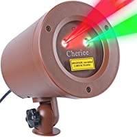 Cheriee Outdoor Laser Christmas Lights Landscape Projector