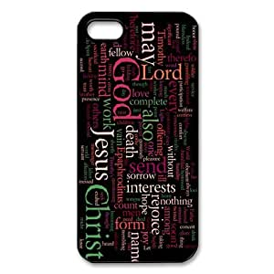 Zheng caseZheng caseiphone 4/4s /iPhone 4/4s Covers Hard Back Protective-Unique Design Cute Jesus Christ Cross Bible Quotes Case Perfect as Christmas gift(8)