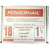 Powernail- Powercleats 18 Gauge Flooring Nails 1 1/2inches- 5,000 Nails ...