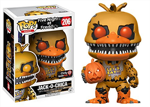 Funko POP Jack-O-Chica GameStop Exclusive #206 Five Nights At Freddy's -  KHGL-FNF-CH