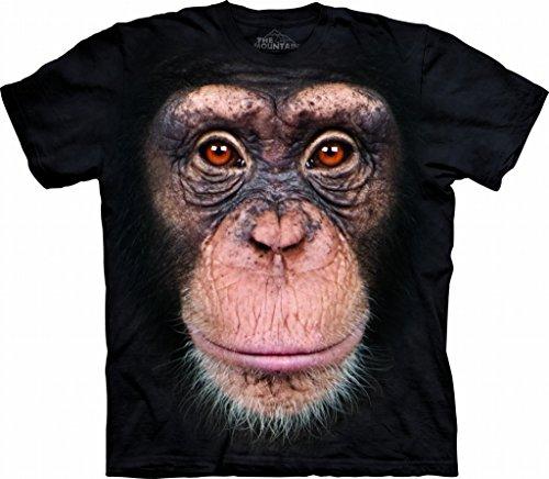 Chimp Face T-Shirt Size XL (Chimp Face)
