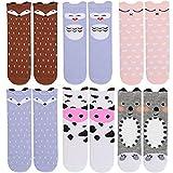 Best Fun Express Baby Girl Shower Gifts - 6 Pairs Unisex Baby Girls Socks,Yababymu Toddler Boy Review