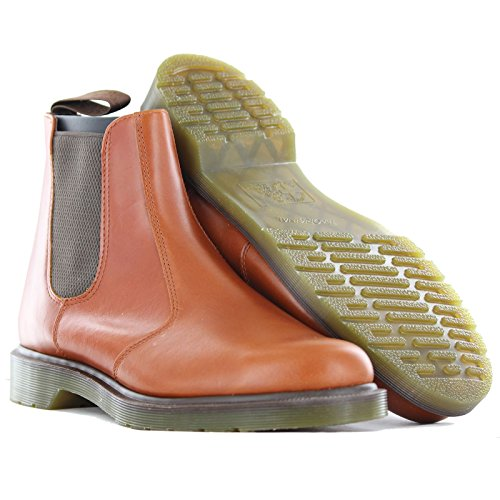 Dr. Martens Mens 2976 Crazy Horse Chelsea Boot English Tan 2Onurr