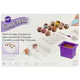 Wilton 2104-0032 Candy Melts Dip and Clip Decorating Essentials Set