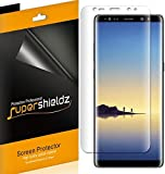 [2-Pack] Supershieldz for Samsung Galaxy Note 8 Screen Protector, High Definition Clear Shield -Lifetime Replacements Warranty