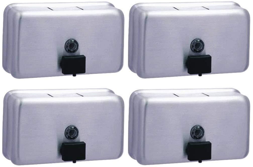 Bobrick Washroom Equipment B-2112 Liquid Soap Dispenser (Pack of 4)