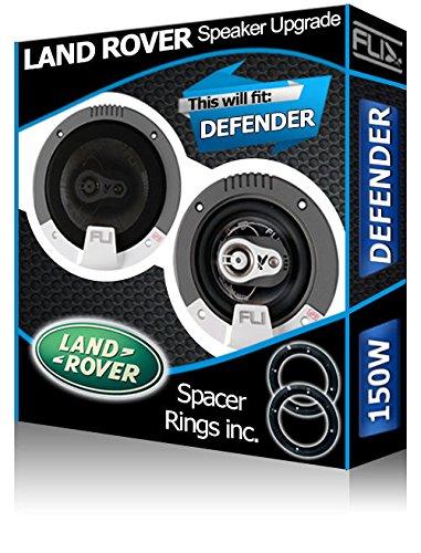 Land Rover Defender Front Dash speakers Pioneer car speaker kit +